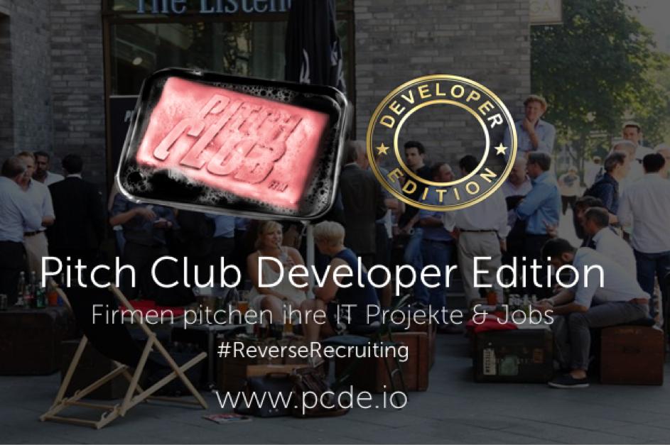 PITCH CLUB DEVELOPER EDITION #28 AM 10. APRIL 2019 IN DORTMUND