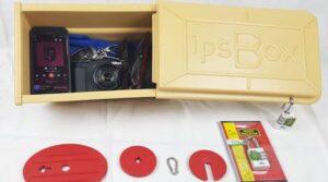 ISP World: ipsBox Sicherheit am Strand für Ihre Wertsachen