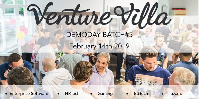 Digital Demoday@VentureVilla