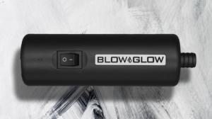 Blowglow ist ein Gerät zum Anrauchen der Shisha.