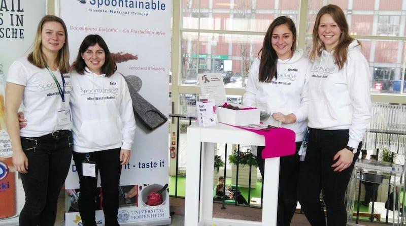 Spoontainable Spoonie der nachhaltige und essbare Eislöffel