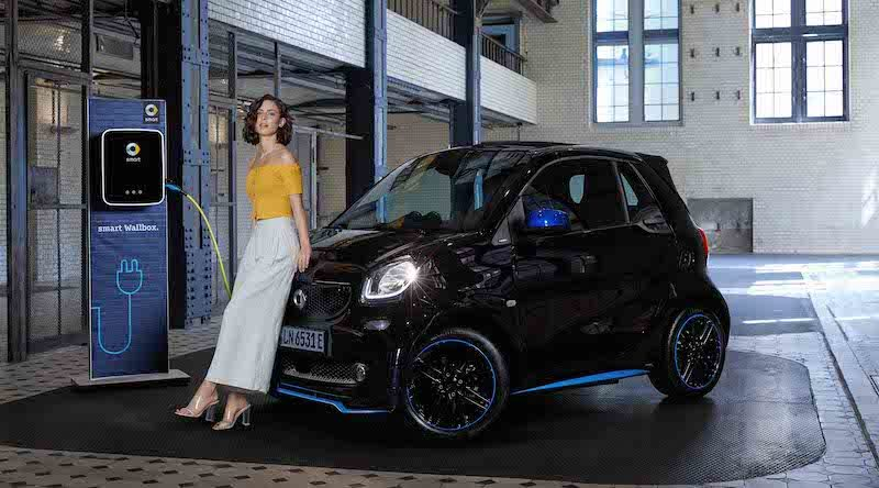 Lena Meyer-Landrut goes electric smart EQ forfour