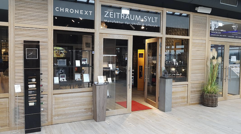 CHRONEXT eröffnet neue Pick-up Lounge auf Sylt