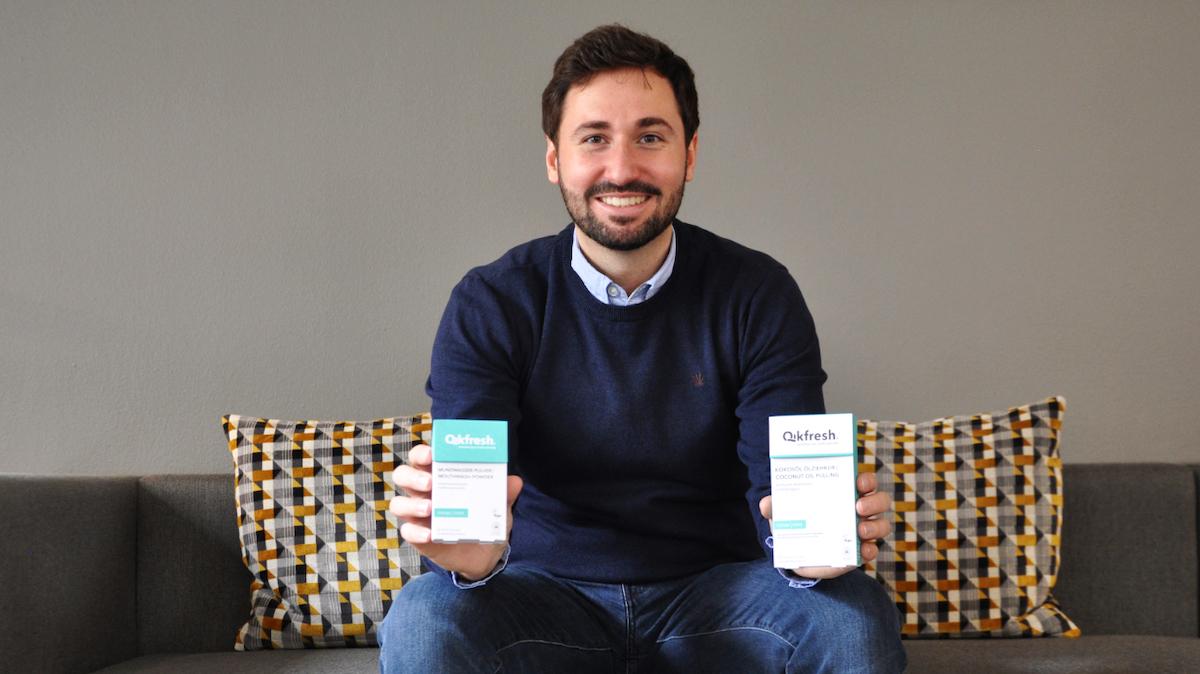 Qikfresh Mundpflege für unterwegs: Mundwasser-Pulver und die Kokosöl Ölziehkur
