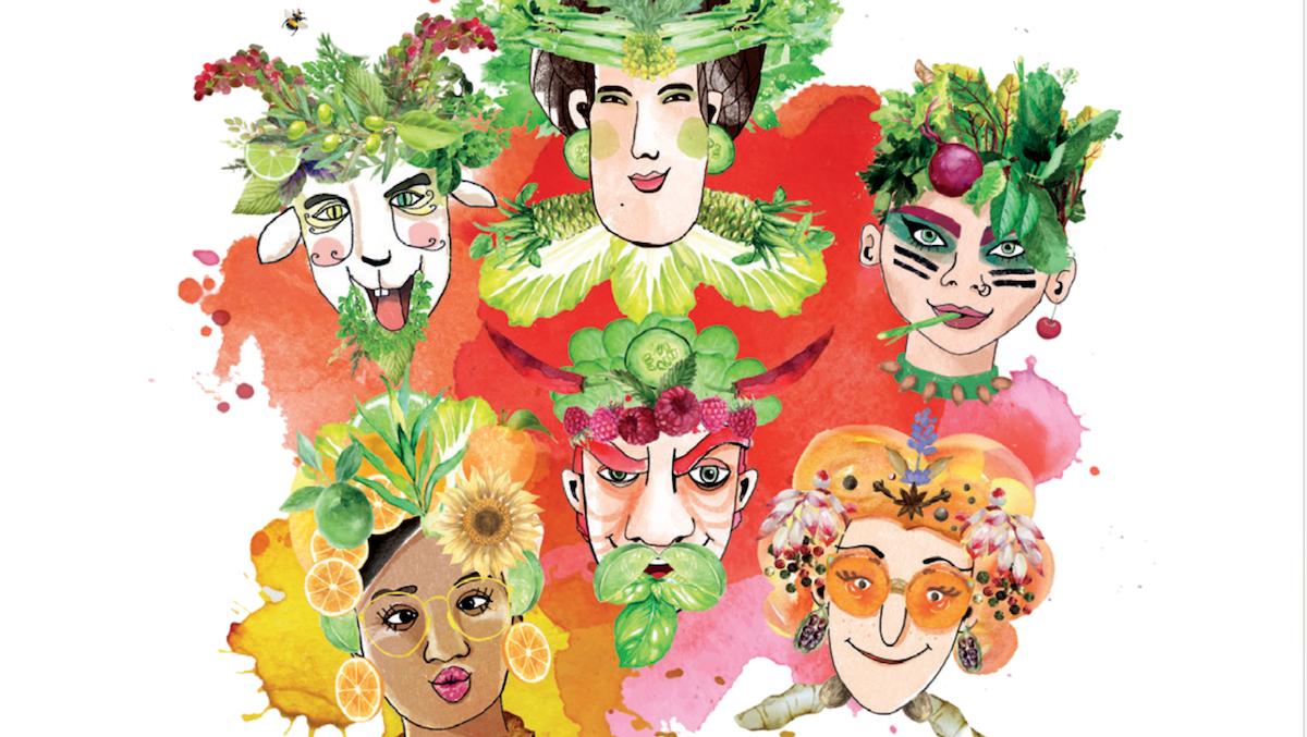 SpiceNerds Bio Dressings Gemüse Salat