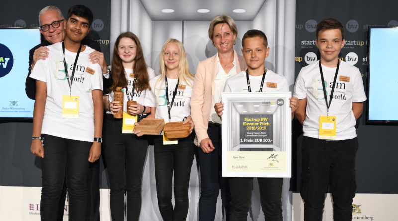 BamBox gewinnt beim Landesfinale Start-up BW Young Talents in Stuttgart