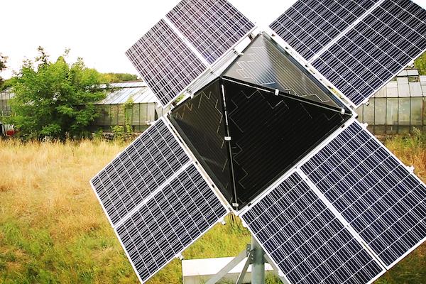solartrichter Solarenergie