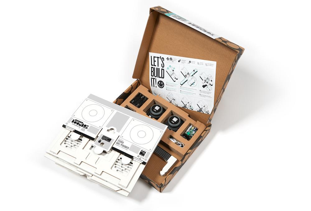 Berlin Boombox Bluetooth Lautsprecher: DIY Baukasten