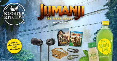 Kloster Kitchen: Kino-Kooperation Jumanji – the next level