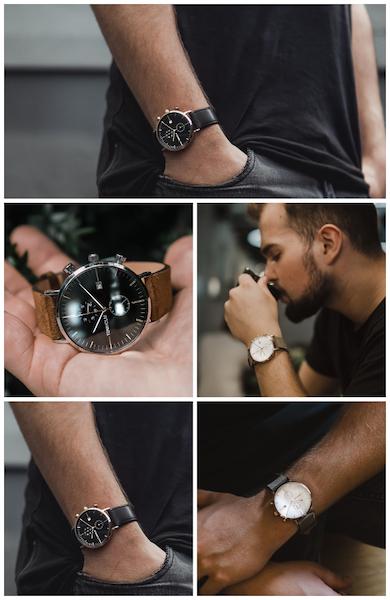 TOMHOLM zeitlose Saphirglas-Uhren im schlichten Design