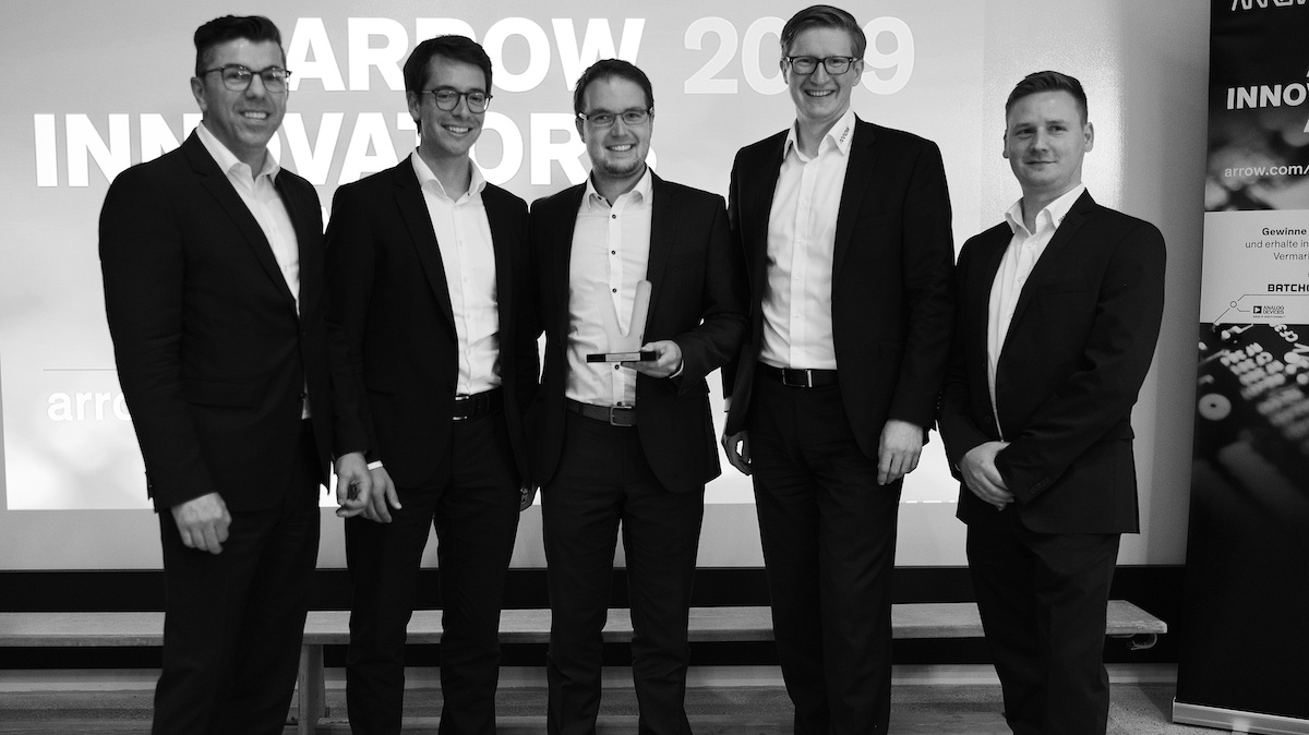 Volabo gewinnt den Innovators Award 2019 von Arrow Electronics