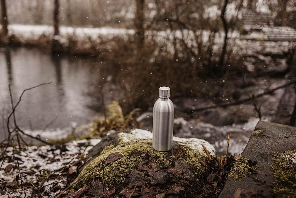 MATE OF STEEL Edelstahl- Flasche für den Sodastream