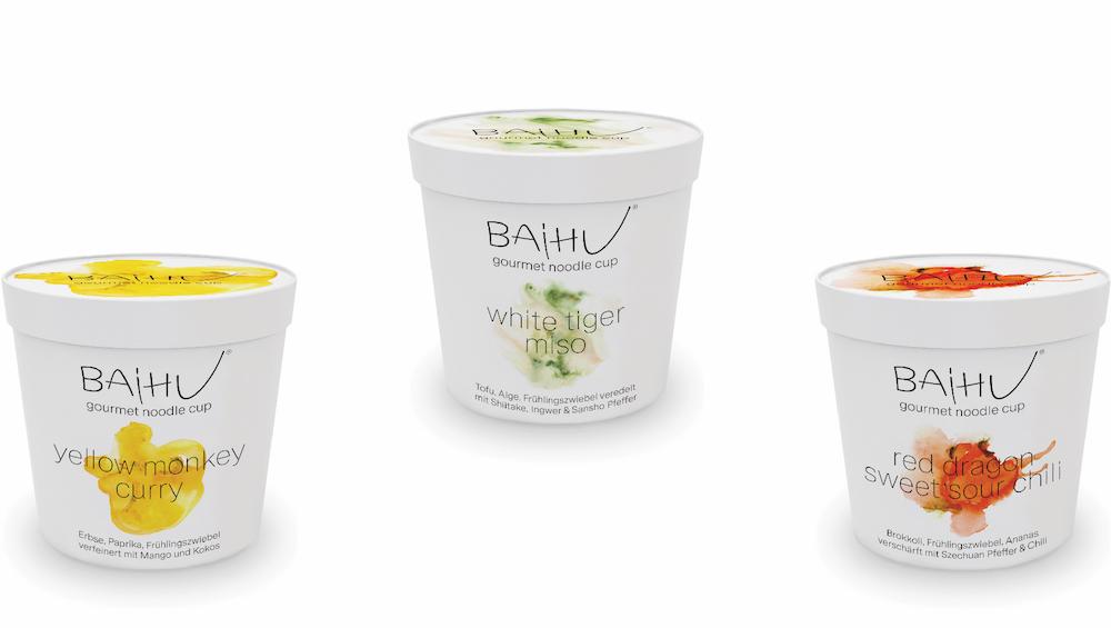 Baihu Foods Gourmet Instant Nudel: gesunde, vollwertige Mahlzeit