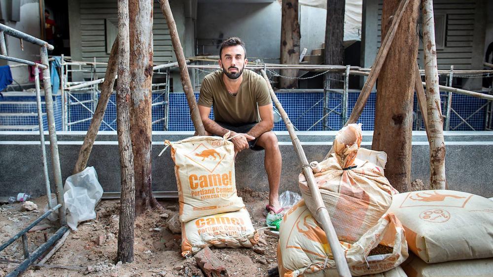 ELEPHBO Fashion Produkte mit recycelten Zementsäcken aus Kambodscha