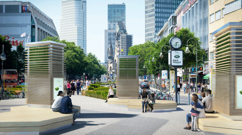 Green City Solutions launcht die CityTree