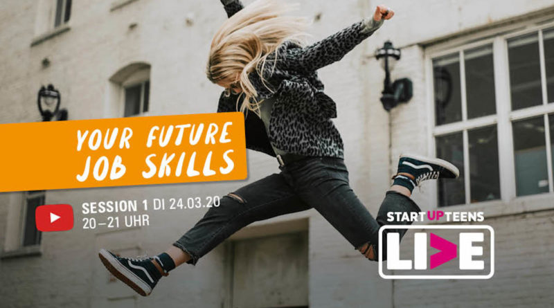 STARTUP TEENS Your Future Job Skills YouTube Influencern