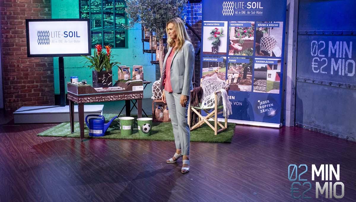 lite-soil pflanzen nachhaltig wasser sparend 2 minuten 2 millionen