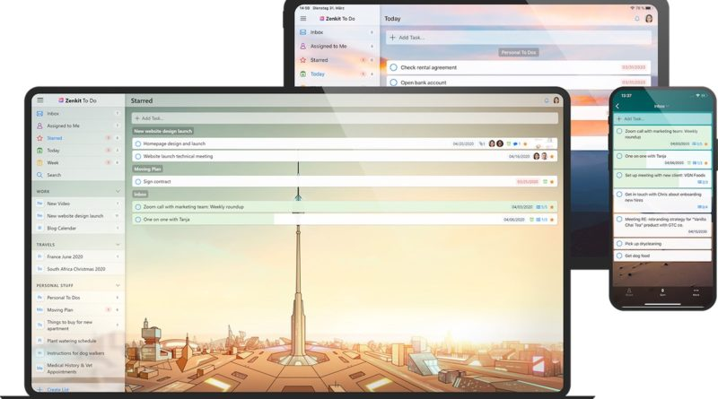 Zenkit To Do wunderlist