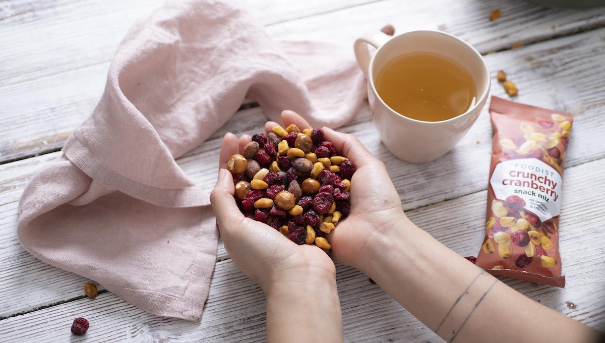 Foodist setzt mit Crunchy Cranberry US Snack-Trend für deutschen Markt um