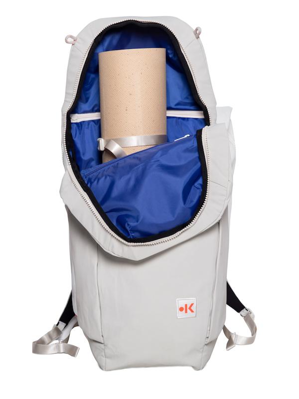 kaala yoga: Rucksäcke und Taschen aus recyceltem Nylon