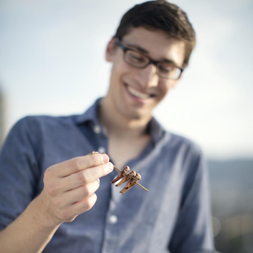 Essento innovative Lebensmittel basierend auf Insekten