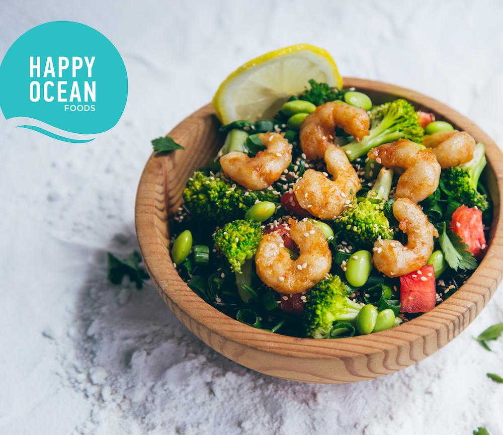 Happy Ocean Foods pflanzliche Alternativen zu Fisch und Meeresfrüchten