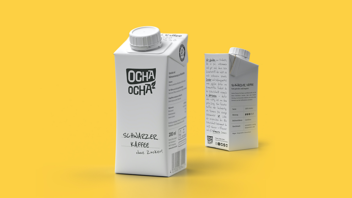 Ocha Ocha erweitertert Portfolio Cold Brew Kaffee