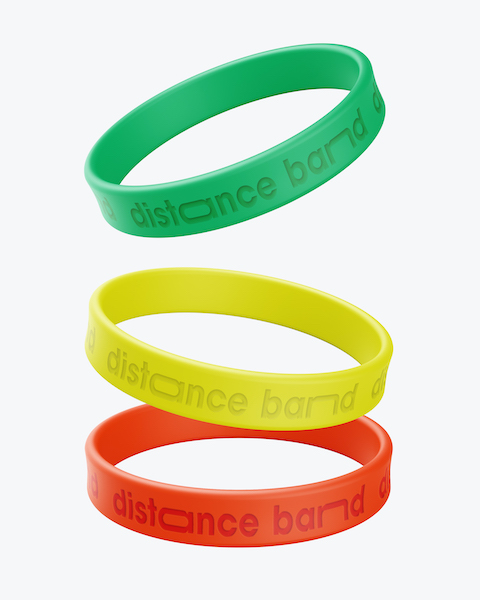 Distance Band Armbänder  Wahrung  sozialen Distanz Alltag