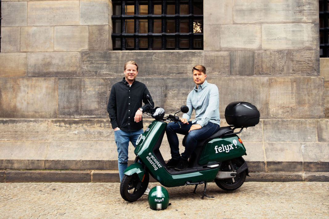 felyx-e-moped sharing