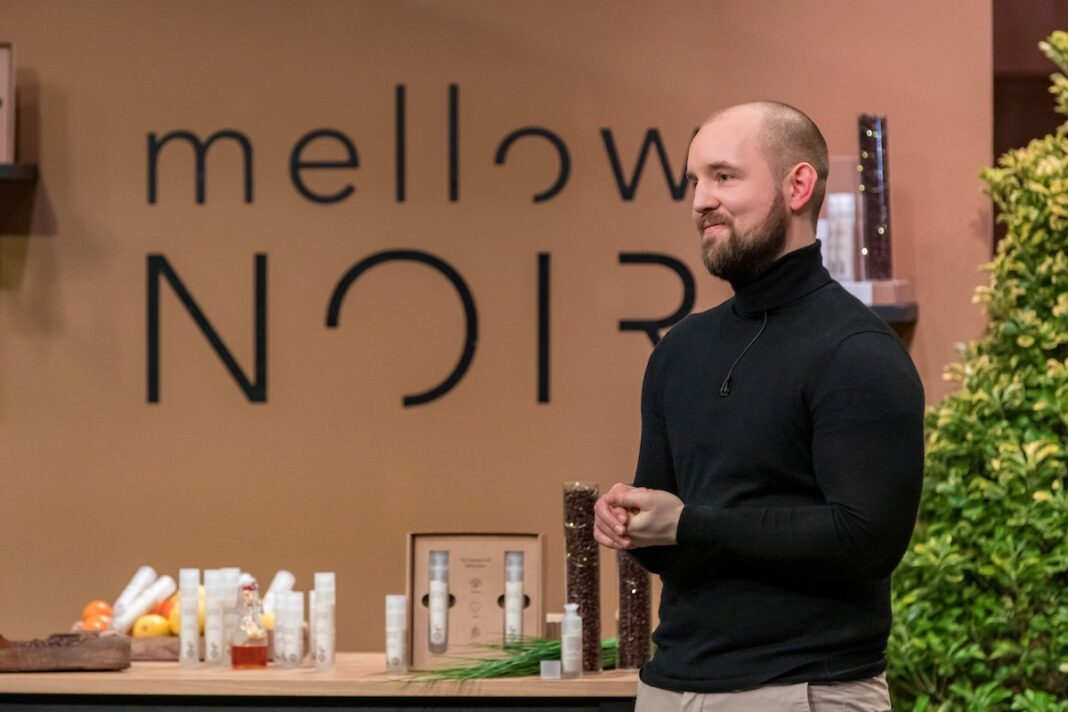 Julian Köster mellow NOIR Naturkosmetik Kaffeeöl Kaffee Höhle der Löwen