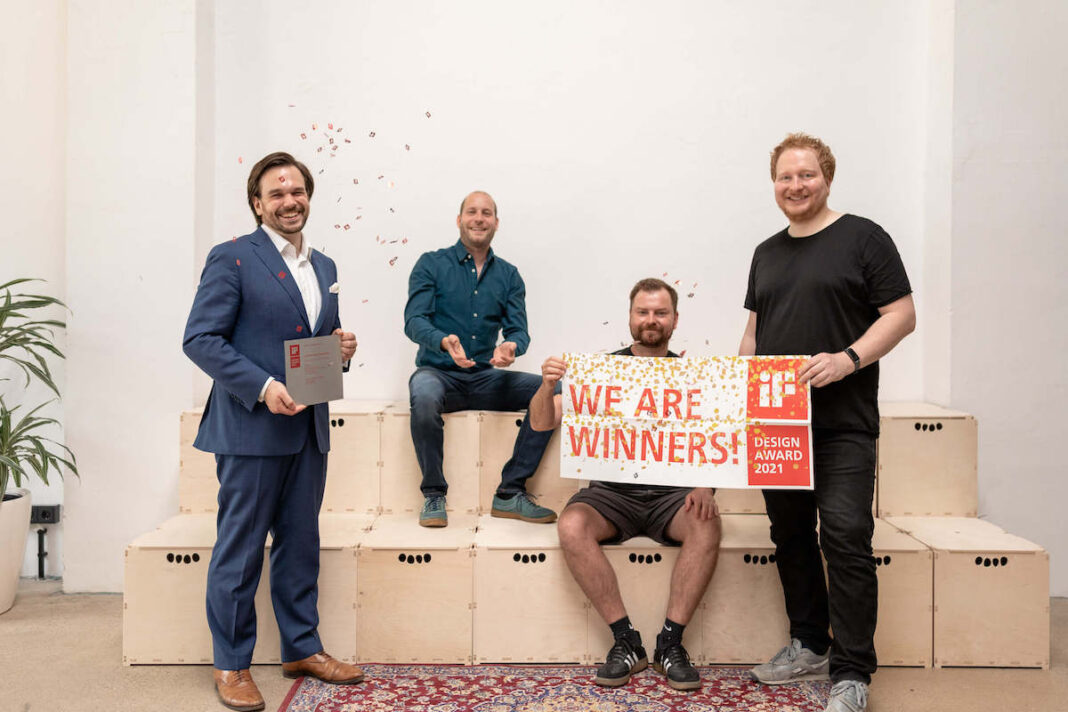 aedifion Frontend gewinnt den iF Design Award 2021