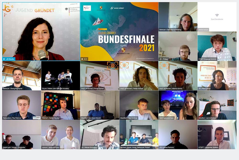 JUGEND GRÜNDET Bundesfinale 2021