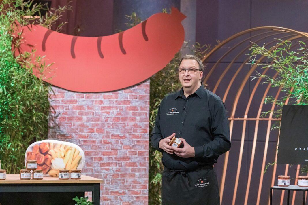 Marco PetersIss doch wurscht Currywurst im Glas Höhle der Löwen