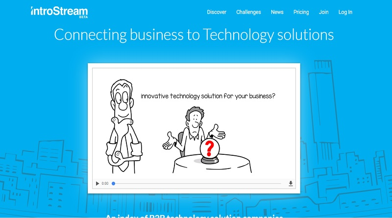 IntroStream technology solution business B2B