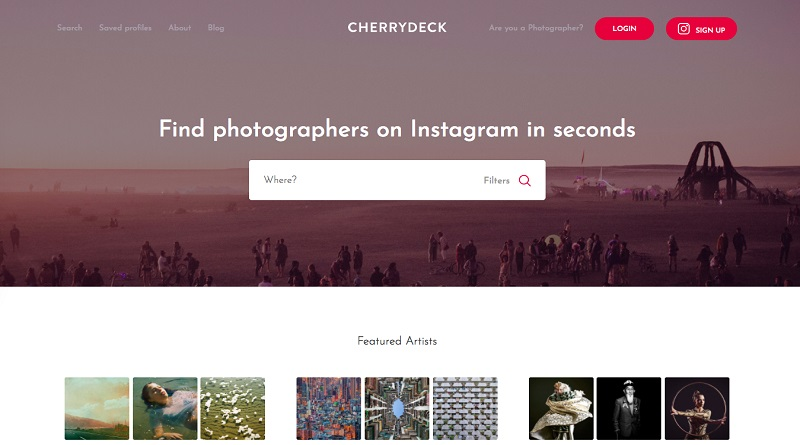 Cherrydeck business directory Instagram