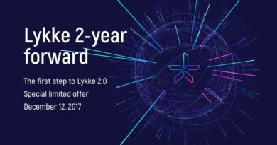 Lykke launches into future with two-year forward token sale