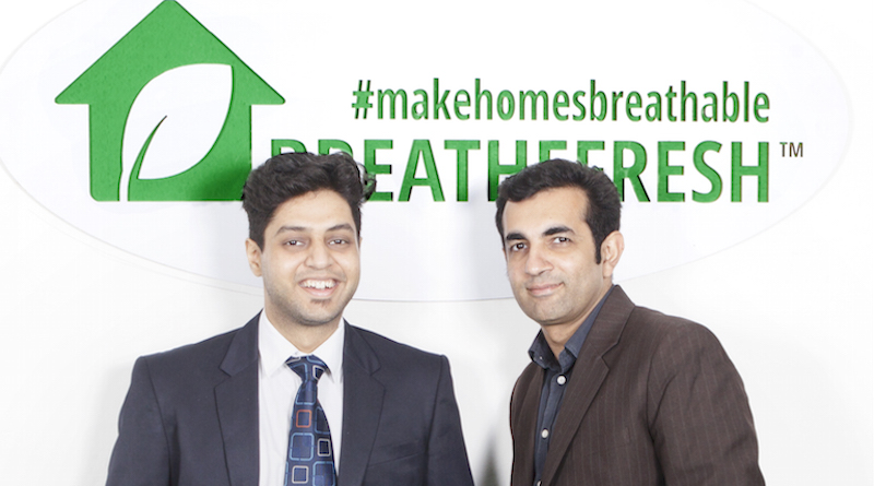 BreatheFresh indoor air pollution