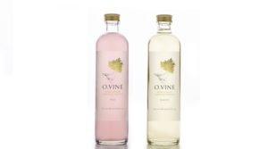 Wine Water reinventing the near water category: O.Vine water sparks the memory of wine