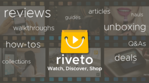 Riveto shopping guide helping to make smart shopping decisions