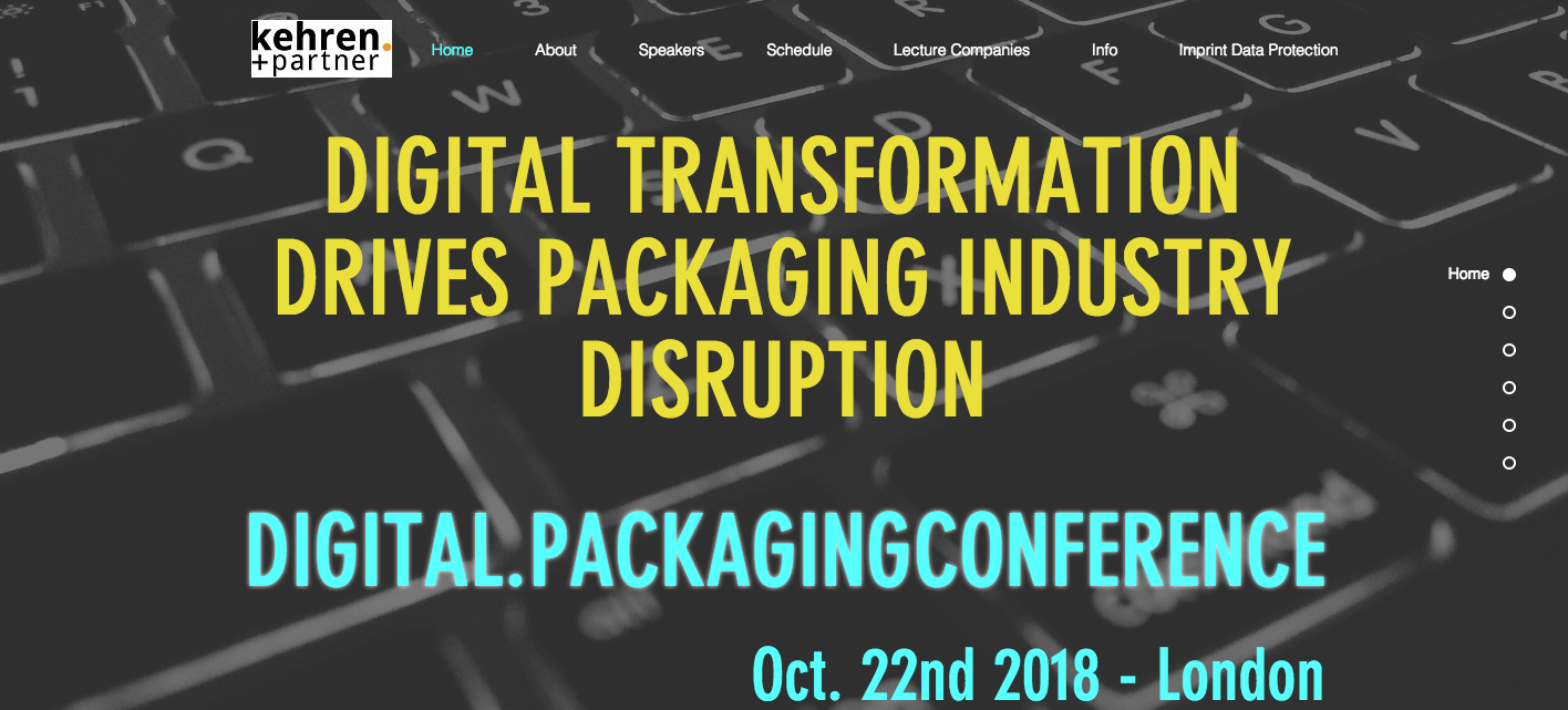 Packaging Industry meets Newcomers @ Digital.Packaging Conference
