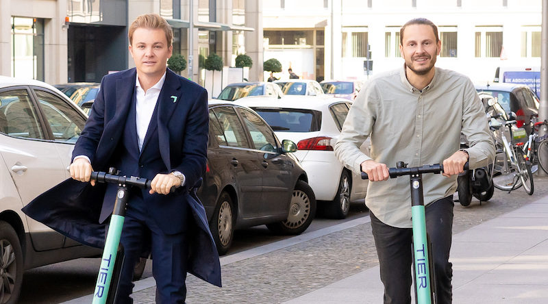 TIER Mobility welcomes Nico Rosberg as new investor