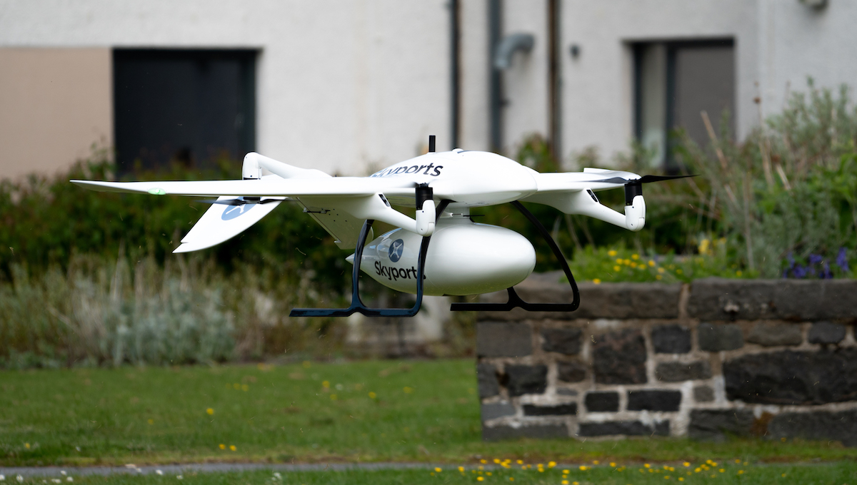 Thales and Skyports partner to conduct drone delivery trial for NHS in Scotland to support UK COVID-19 response