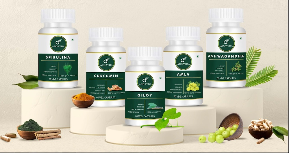 Add Veda is an Ayurvedic and wellness products start-up