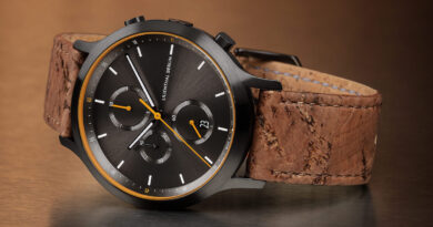 The long-awaited Chronograph Black Orange from Lilienthal Berlin is here!