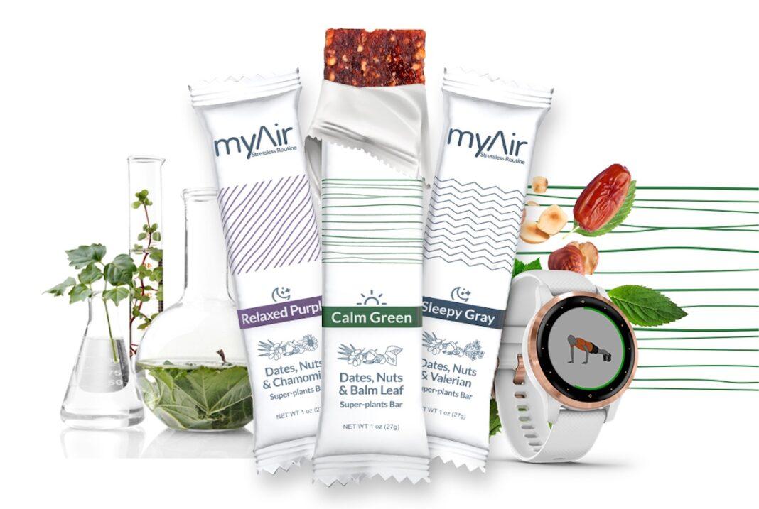 Garmin Wearables myAir foodtech research