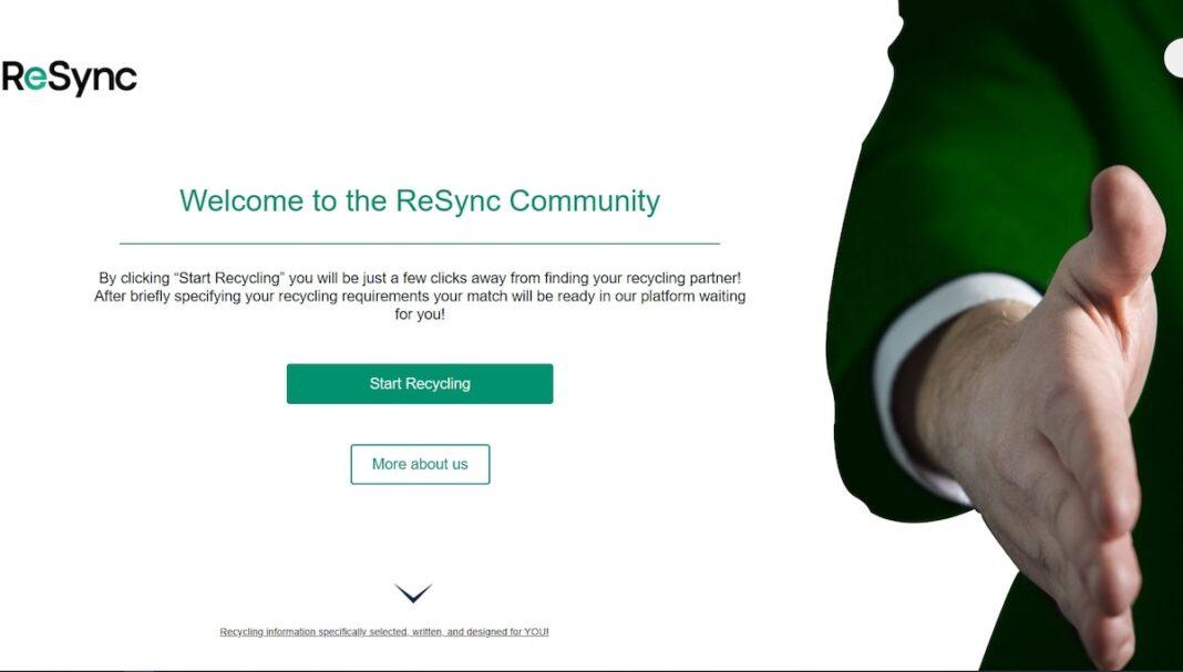 resync recycling green alley award