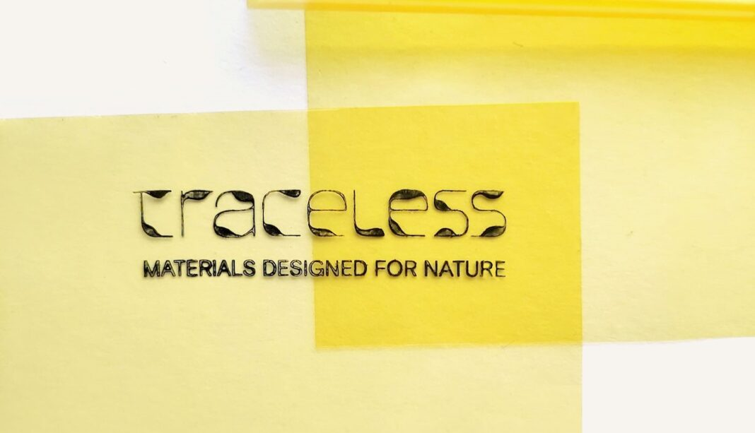 traceless materials bioplastic green alley award