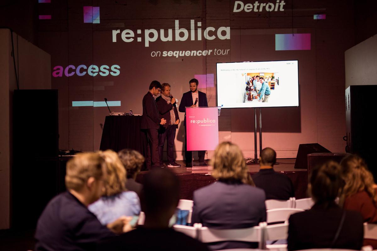 re:publica in Detroit