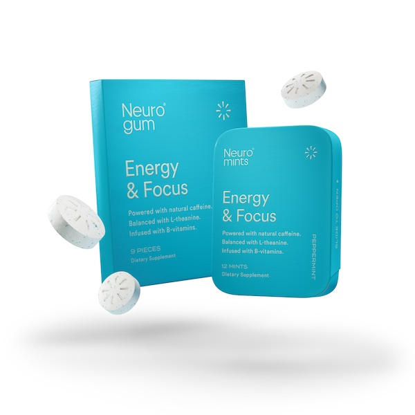 Neuro make functional gum and mints that energize, calm and refresh your state of mind
